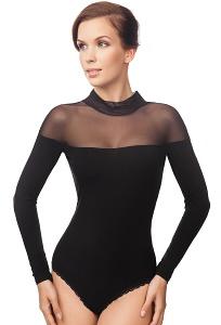 Чёрное элегантное боди Viva La Donna Б 24-1