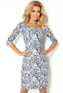 Платье с рукавом три четверти Numoco 121-1