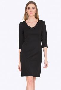 Приталенное платье с рукавом 3/4 Emka PL723/djolin