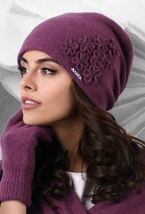 Женская шапка тёмно-синий Kamea Jassy