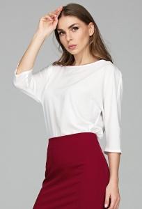 Полупрозрачная блузка из шифона Donna Saggia DSB-48-12