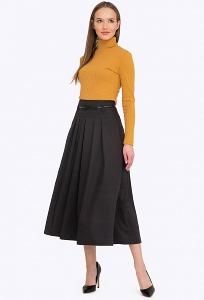 Чёрная юбка в ретро стиле Emka S749/zinira