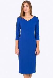 Платье синего цвета Emka Fashion PL-528/suriya