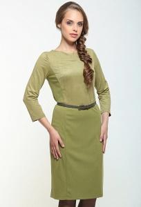Оливковое платье Bravissimo 162536