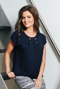 Летняя женская блузка TopDesign A7 072