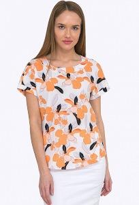 Легкая и стильная летняя блуза Emka B2245/penny