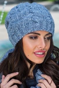 Тёплая женская шапка Kamea Luna