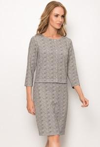 Платье с эффектом юбки и жакета Sunwear ZS274-4-10