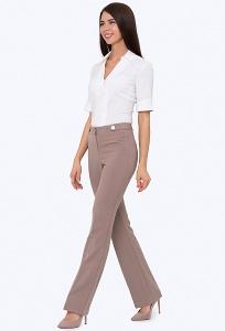 Женские брюки с завышенной талией Emka D-022/ulissa