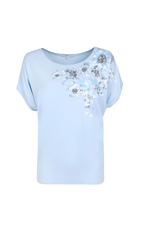 Купить голубую блузку с доставкой