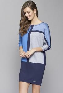Платье с геометрическим принтом Zaps Sari