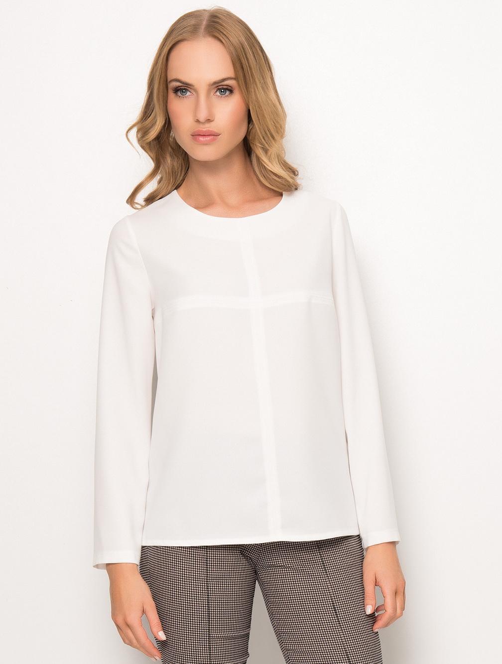Осенняя белая блузка доставка