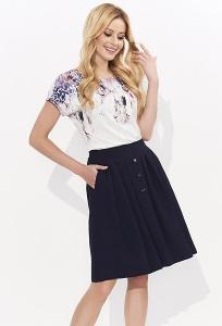 Недорогая свободная летняя блузка Zaps Emmy
