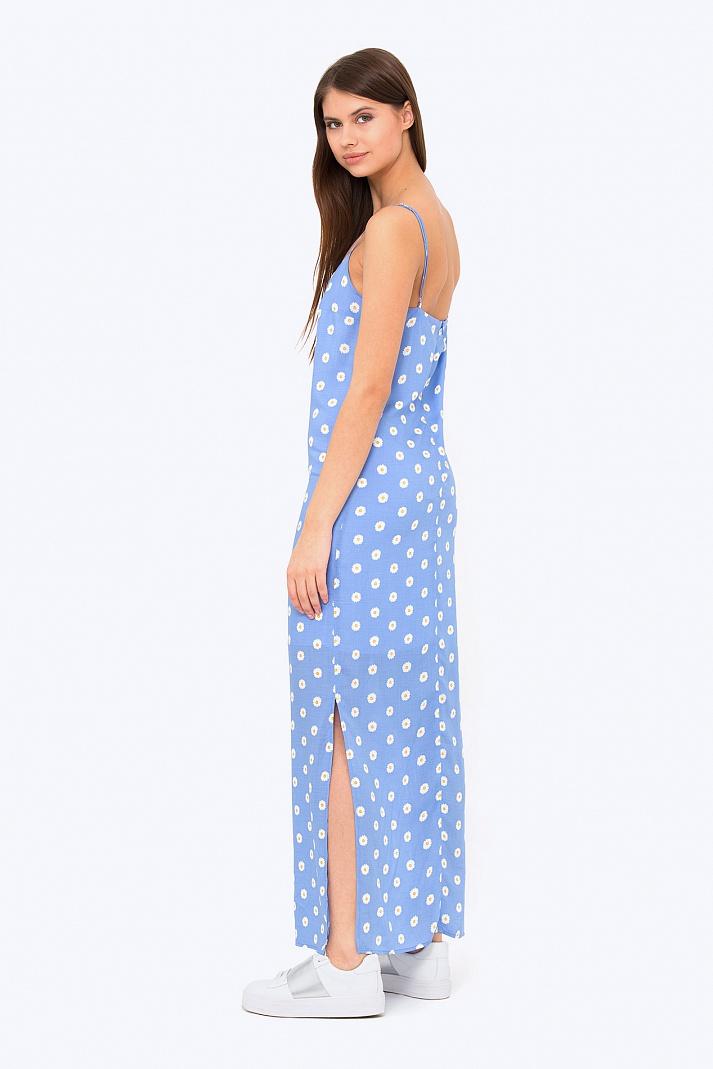Платье В Цветочек Купить
