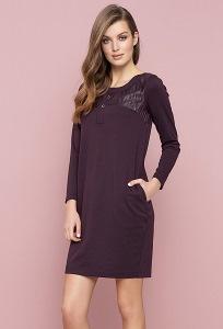 Платье баклажанного цвета Zaps Karina