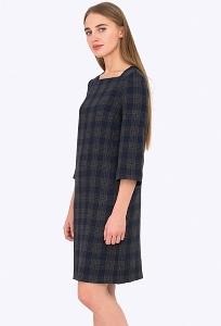 Тёплое шерстяное платmt Emka Fashion PL-526-1/ksimena
