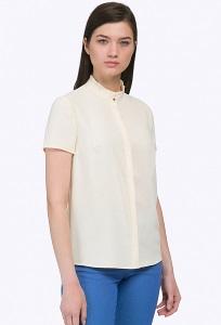 Жёлтая блузка с короткими рукавами Emka B2243/bixi