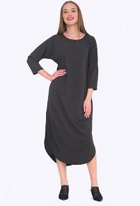 Платье с разрезами по бокам Emka PL670/magnetik