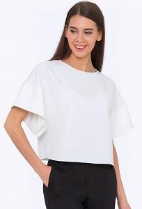 Укороченная блузка с широкими рукавами Emka b2202/nadya