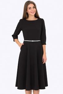 Чёрное платье Emka Fashion PL-407/gvenda