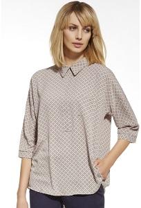 Блузка с рубашечным воротом Enny 230008