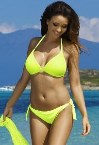 Жёлтый женский купальник Primo 19