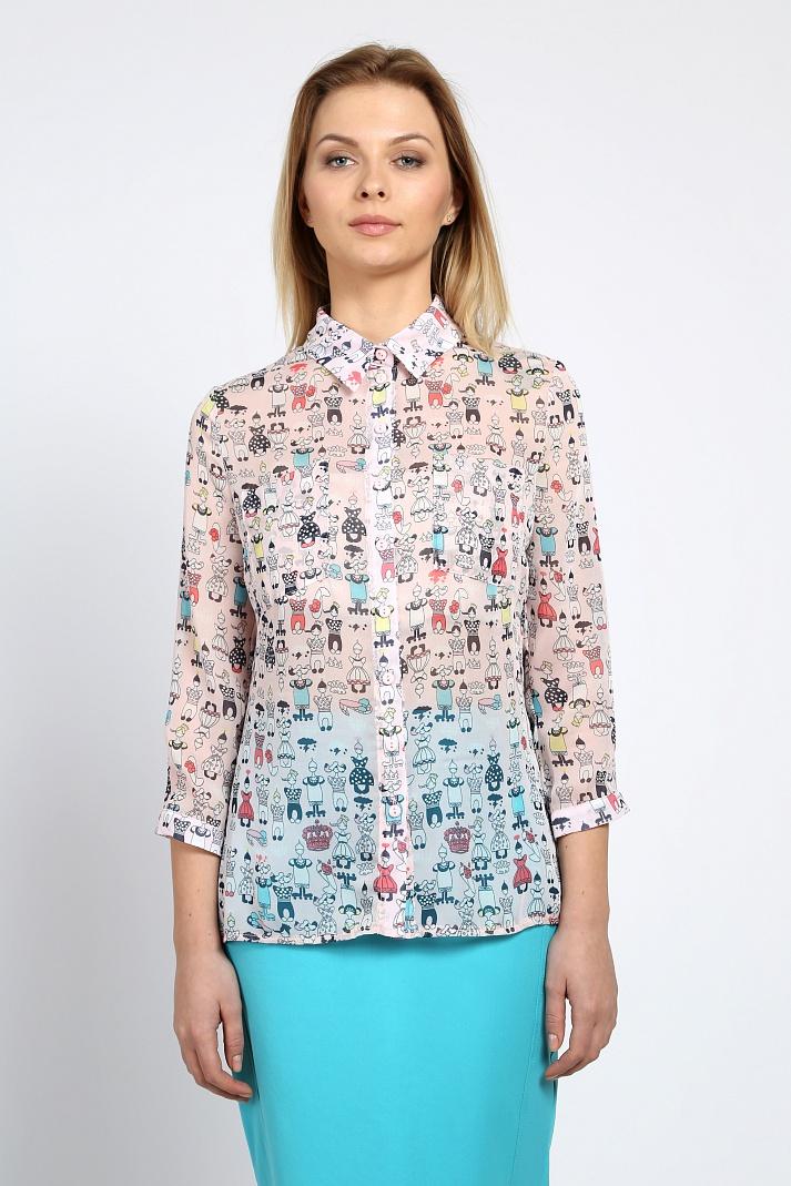 Блузки просвечивающие с доставкой
