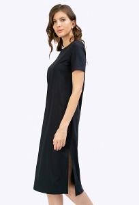 Платье c высокими разрезами по бокам Emka PL514/shelbi