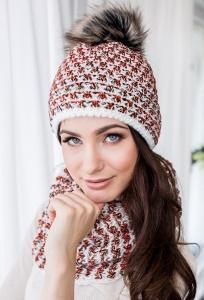 Комплект шапка и снуд Veilo 32.21