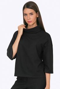 Блузка женская с воротником хомут Emka B2268/mario