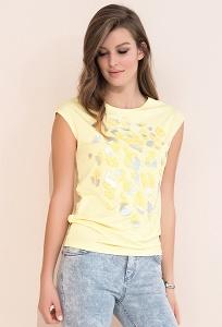 Летняя жёлтая блуза Zaps Nely