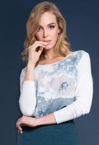 Свободная блузка Zaps Odetta