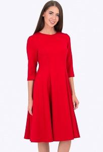 Красное платье Emka Fashion PL-543/rostislava