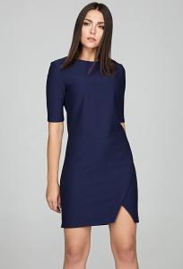 Коктейльное платье из плотного трикотажа Donna Saggia DSP-262-41t