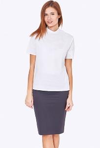 Простая недорогая юбка Emka Fashion 202-60/tasmaniya