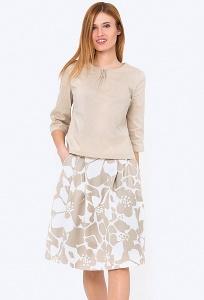 Летняя расклешенная юбка Emka 247/beiler