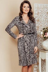 Трикотажное платье TopDesign Premium PB6 29