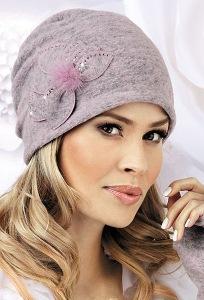 Женская шапка с цветком Landre Dora