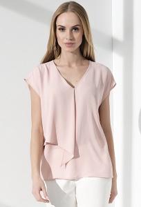 Летняя женская блузка с V-образным вырезом Sunwear I12-2-17