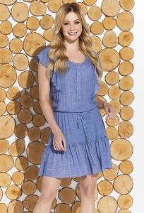 Лёгкое короткое летнее платье из вискозы Zaps Candra