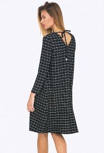 Платье А-силуэта с вырезом на спине Emka PL711/arcada
