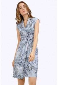 Летнее платье с запахом Emka PL876/nani