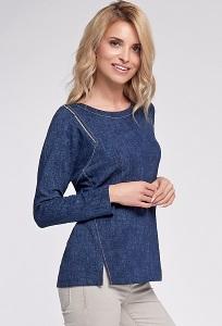 Синяя женская блузка Sunwear O42-5-30