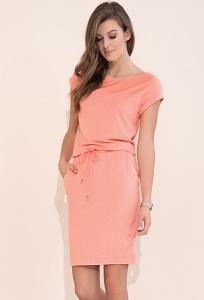 Летнее трикотажное платье Zaps Naos