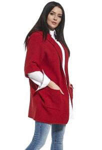 Кардиган с капюшоном красного цвета Ennywear 250144