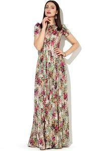 Длинное летнее платье Donna Saggia DSP-147-61t
