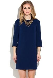 Тёмно-синее коктейльное платье Donna Saggia DSP-269-62