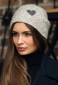 Женская шапка Gulyann Heart