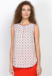 Блузка без рукавов Emka Fashion b 2144/sevil