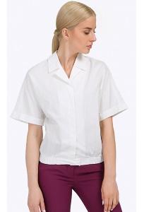 Белая блузка на широкой резинке Emka B2307/ronda